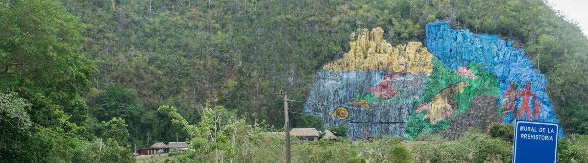 Check out sam travel guide and info about vinales cuba for Mural de la prehistoria