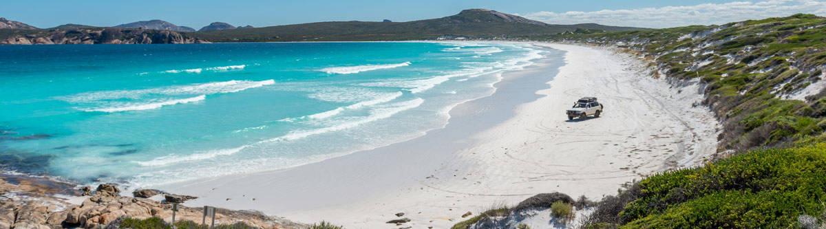 Exotic beach in Australia.