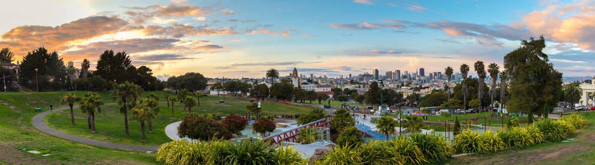 Dolores Park San Francisco.