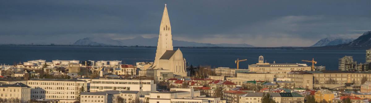 Overzicht Reykjavík.