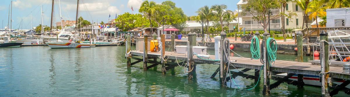 De haven in Key West.