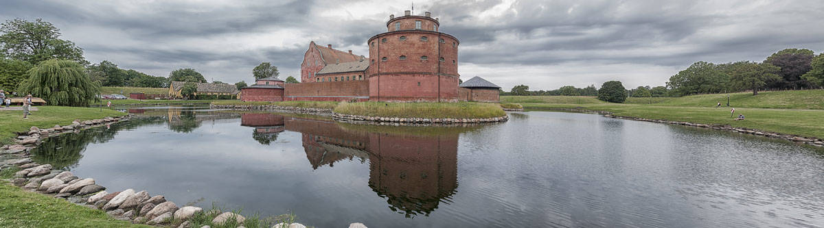 The Landskrona Citadel in Sweden.
