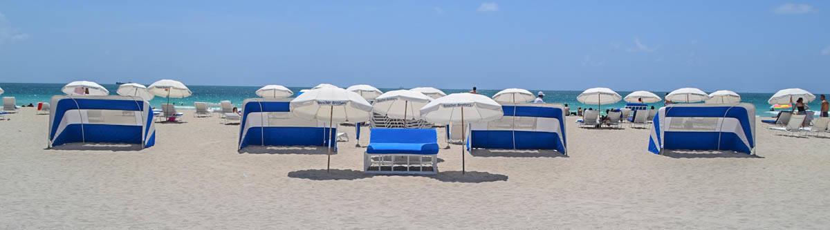 Miami is perfect voor een strandvakantie!