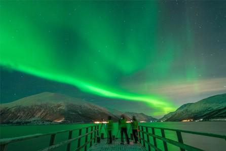 Noorderlicht tromso noorwegen