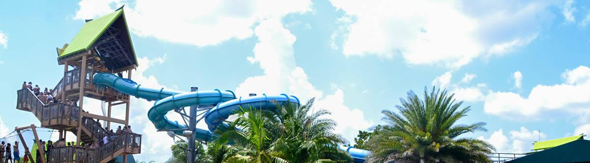 Aquatica, een waterpretpark in Orlando.