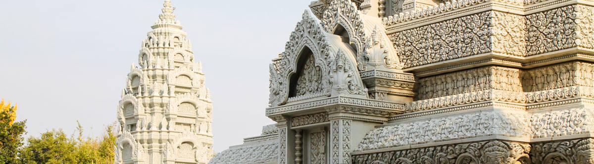 Royal Palace of Phnom Penh.