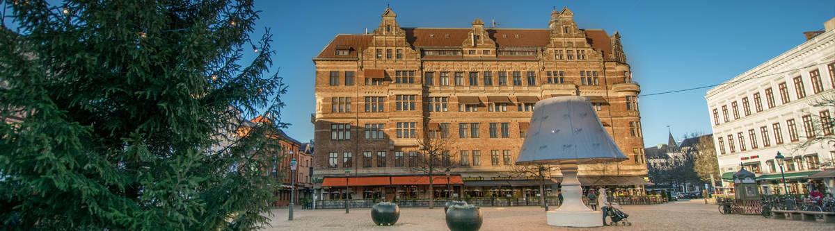 Pleintje in Malmö.