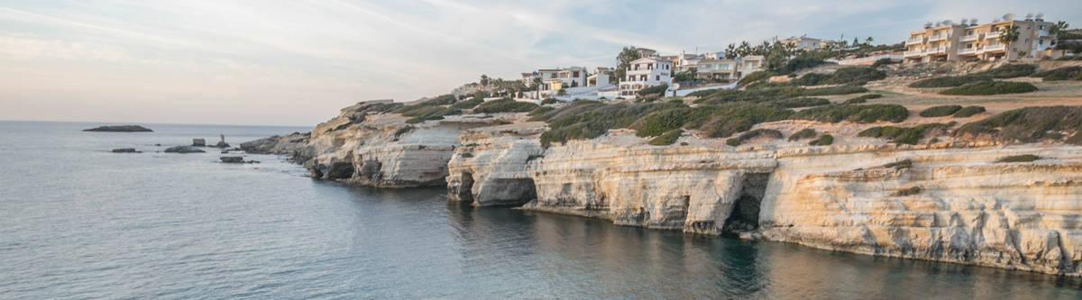 Zeegrotten Paphos