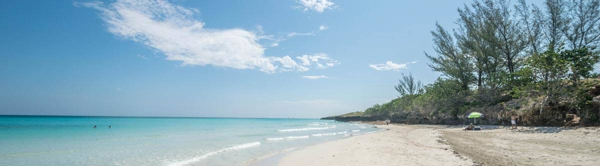 Varadero, the most touristy place in Cuba with heavenly beaches everywhere!