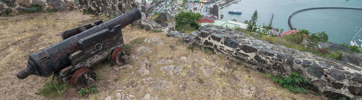 Fort St. Louis in Marigot.