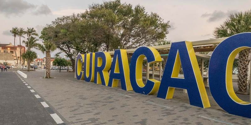 Arrival in Curacao