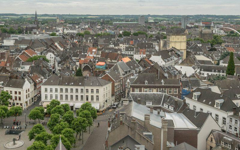 Skyline of Maastricht.