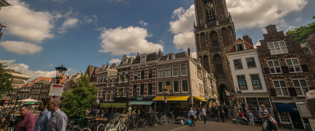 The cathedral of Utrecht. The highest in the Netherlands!