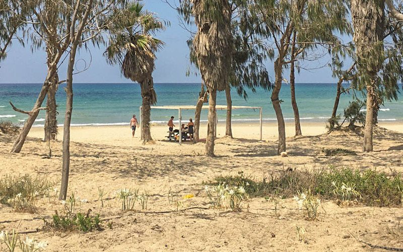 Kibbutz private beach