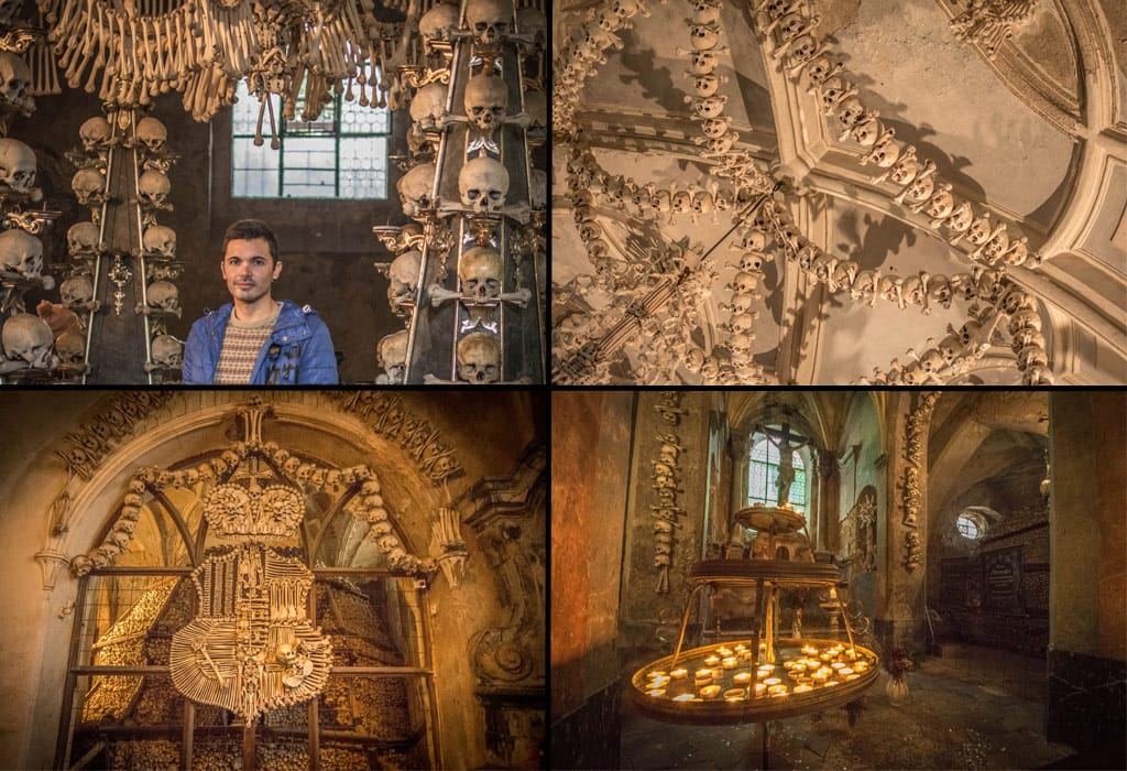 Some photos from my trip to the Kutna Sedlec Ossuary, about an hour away from Prague.
