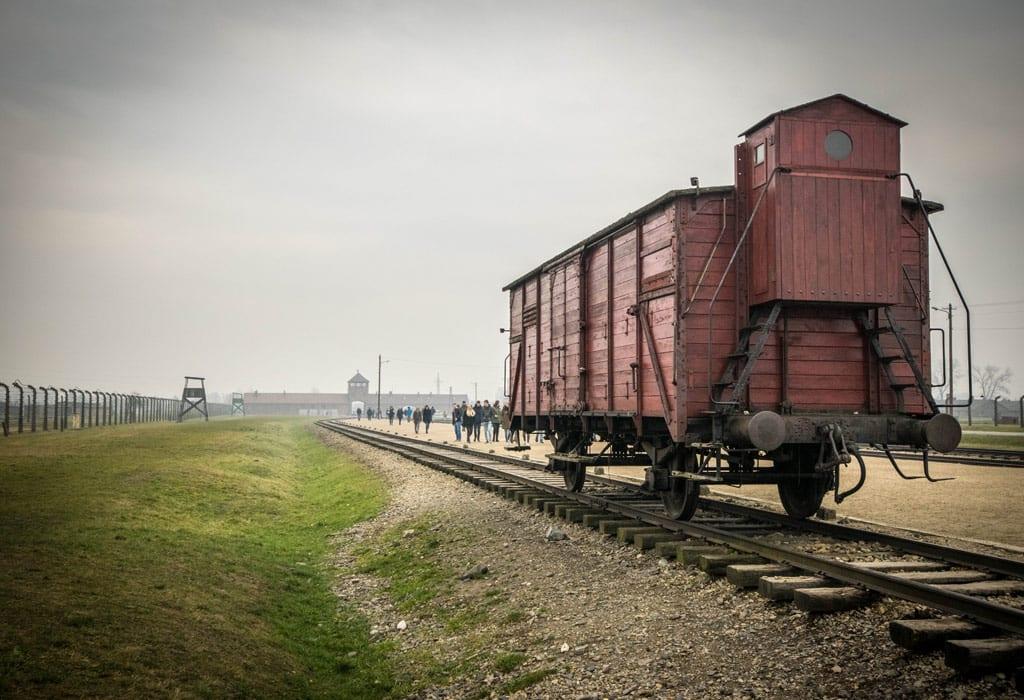train wagon auschwitz birkenau krakow