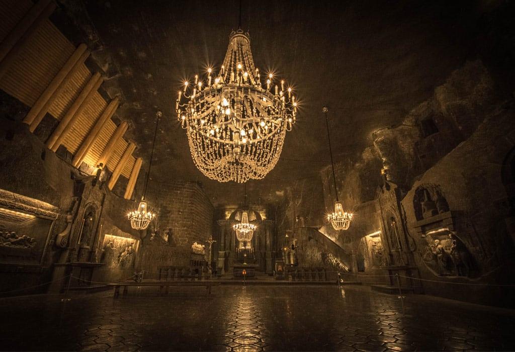 underground salt cathedral wieliczka