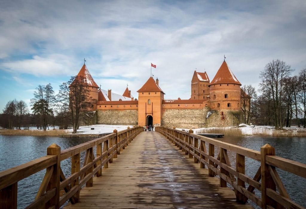 The Trakai castle! Gorgeous, isn't it?