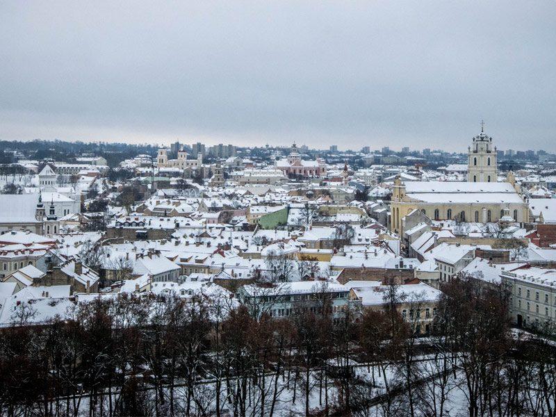 Warsaw to Vilnius
