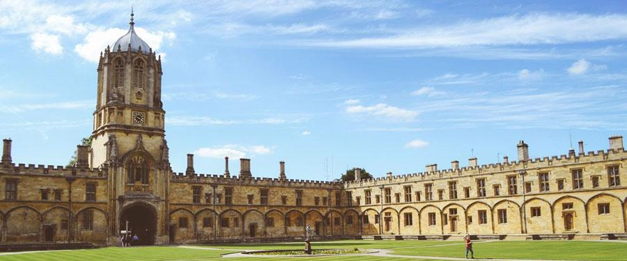 One of the most famous university cities of England; Oxford.