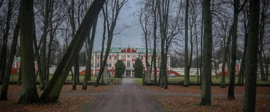 The Kadriorg palace of Estonia in Tallinn.