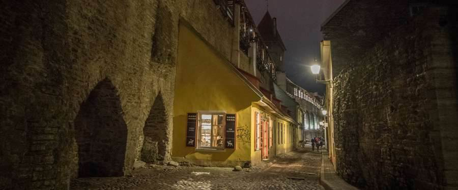 Everywhere in Estonia you'll find some old city centers. Beautiful buildings, cosy alleyways and an excellent atmosphere!