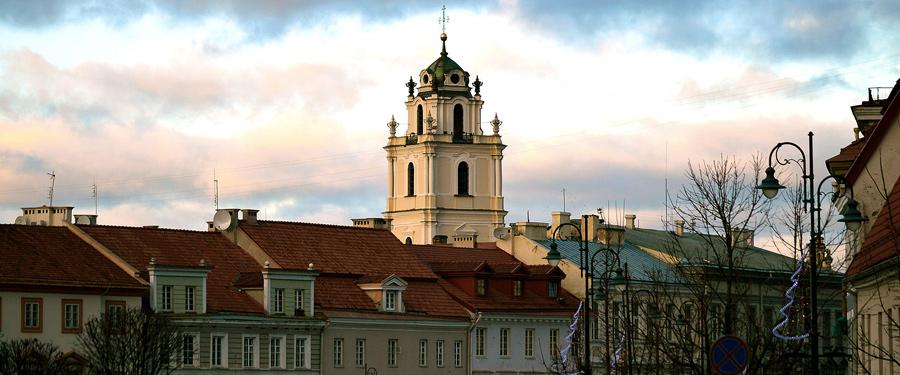 The capital of Lithuania, Vilnius, is rather small. I actually think there might be more churches than inhabitants!