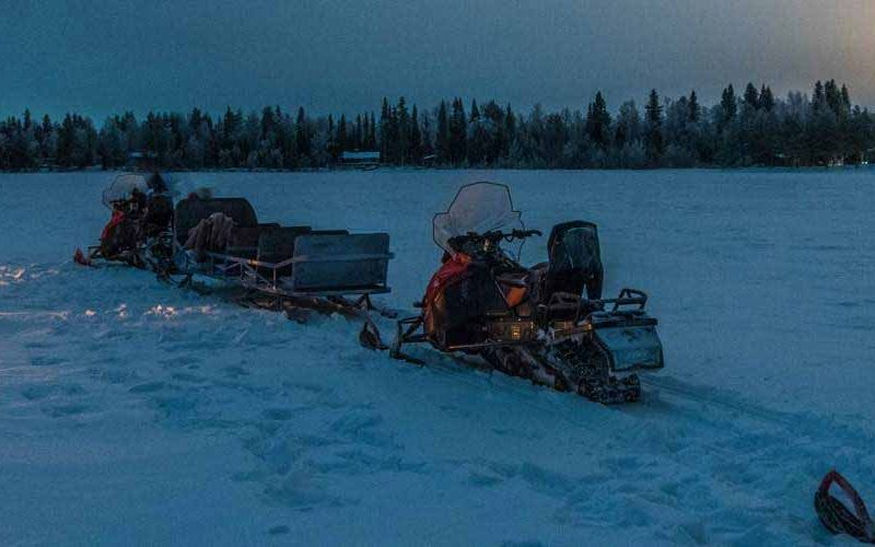 wild nordic snowmobile