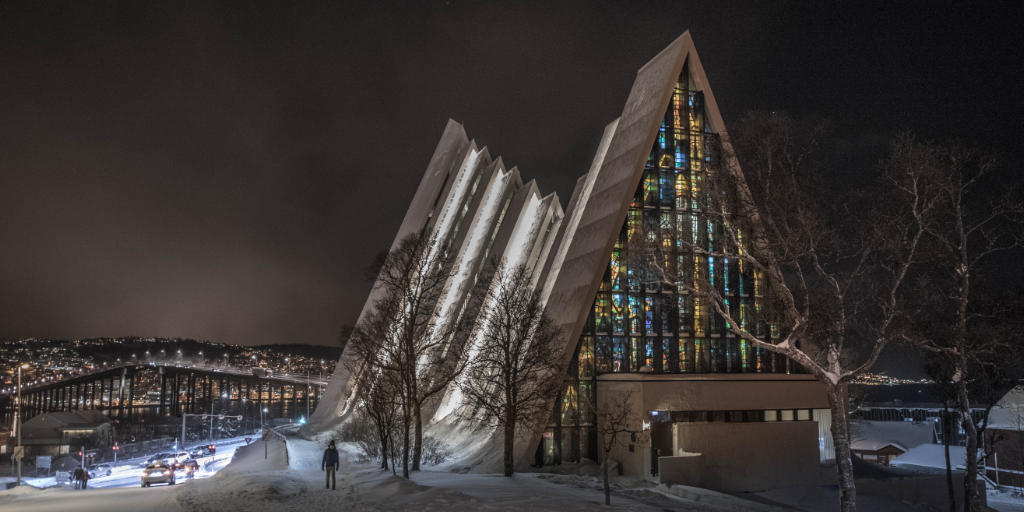 The Arctic Cathedral of Tromsø. Isn't it a beaty?!