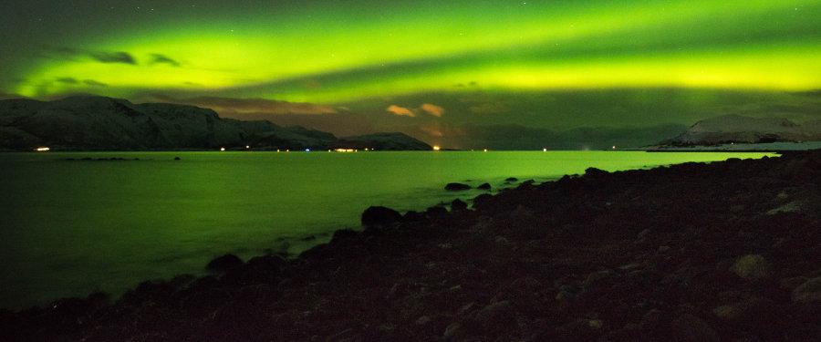 Lofoten aurora Borealis