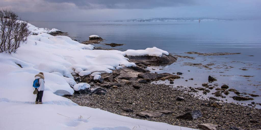 Snow white beaches? You can find these in Tromsø as well!