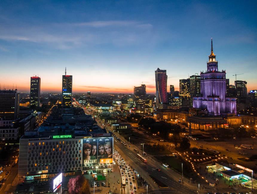 visit Poland Warsaw