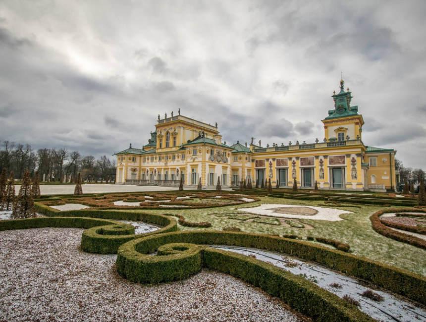 wilanow palace poland