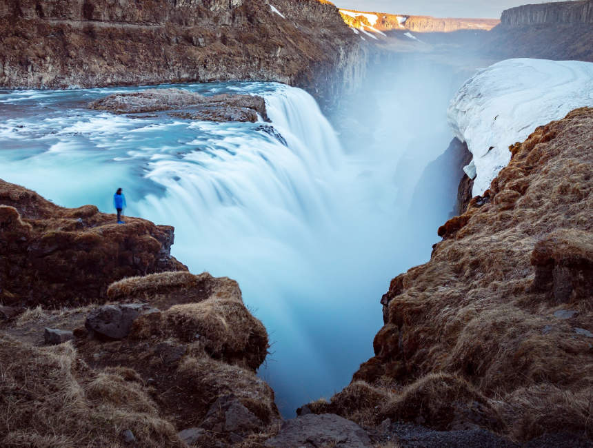 The golden circle in iceland a practical guide to visiting the the golden circle iceland gullfoss waterfall solutioingenieria Gallery