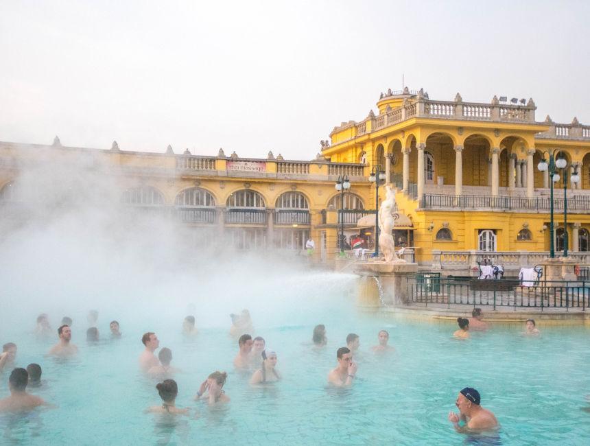 budapest bath houses szechenyi spa
