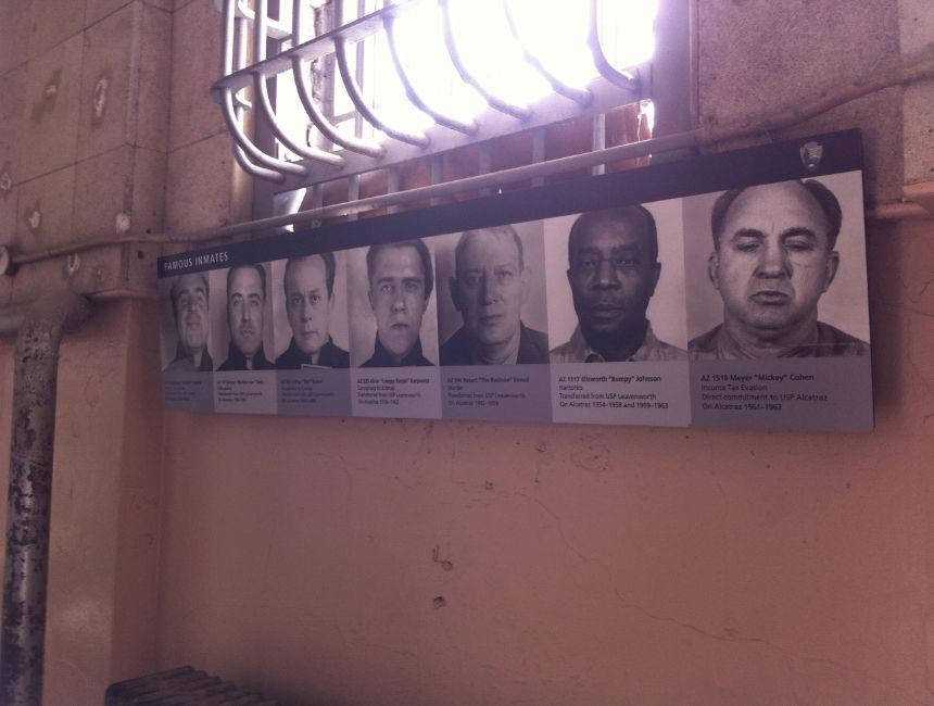 famous prisoners alcatraz visit