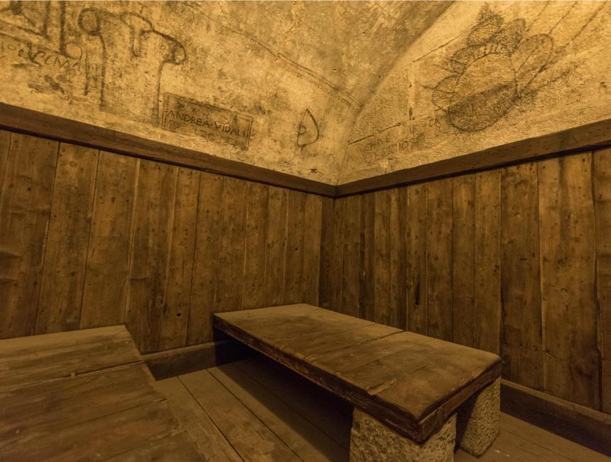 prigione nuovo doge's palace prison