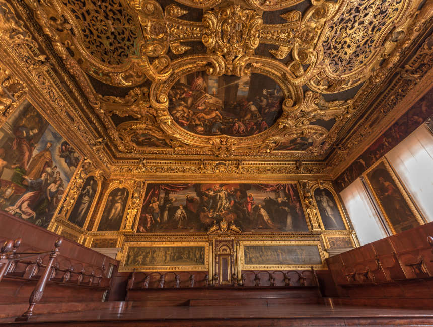 court rooms doge's palace