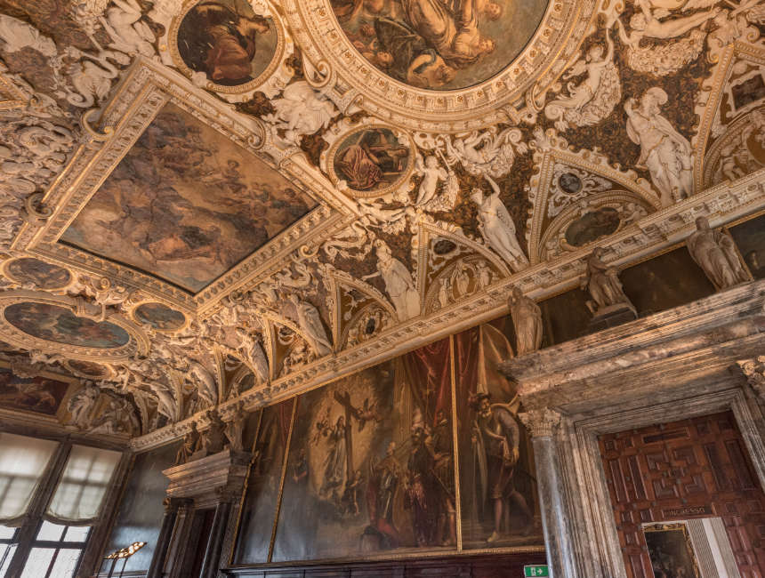 doge's palace interior