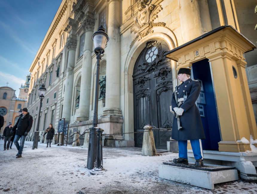 Royal palace of Stockholm things to do