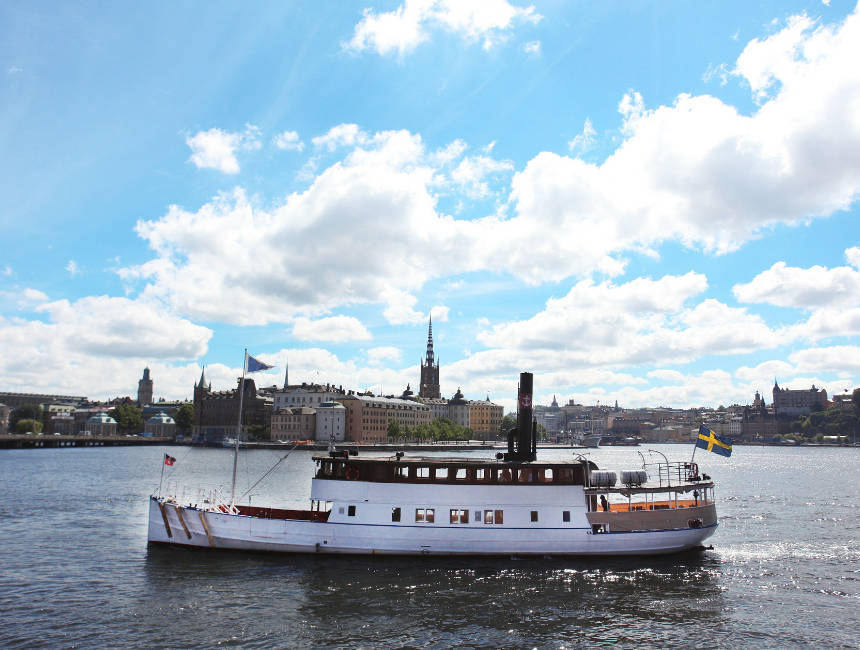 Things to see in Stockholm - boat trip