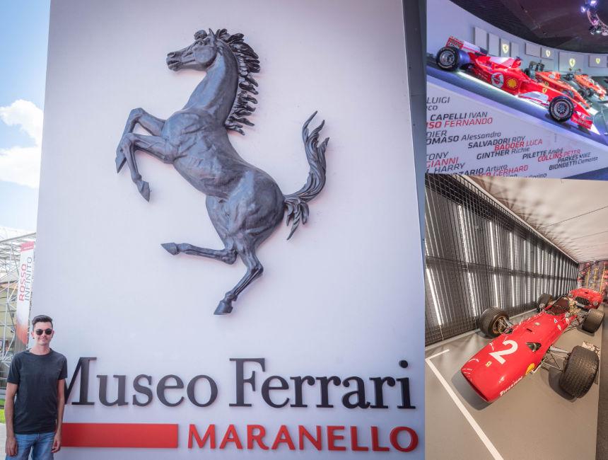 ferrari museum maranello and modena