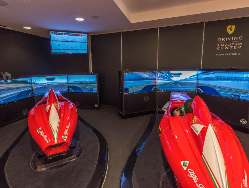 ferrari F1 simulator maranello museum ferrari