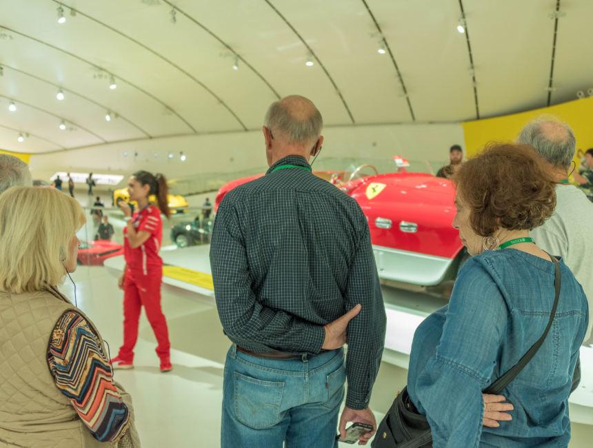 ferrari museum guided tour