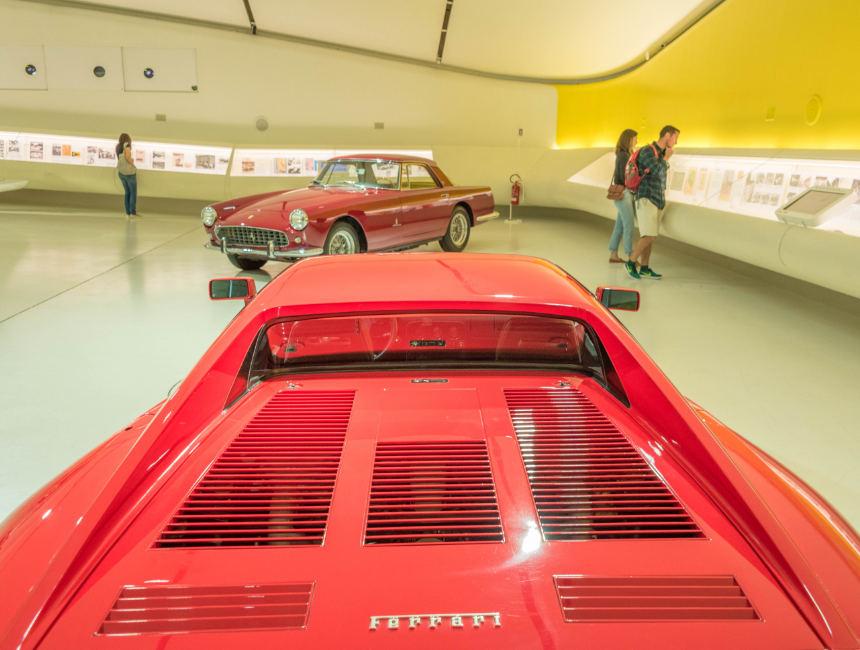 ferrari museum modena visit