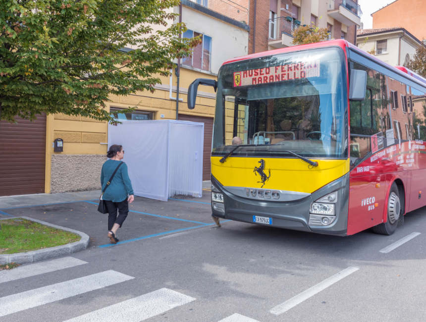 shuttlebus ferrari museum