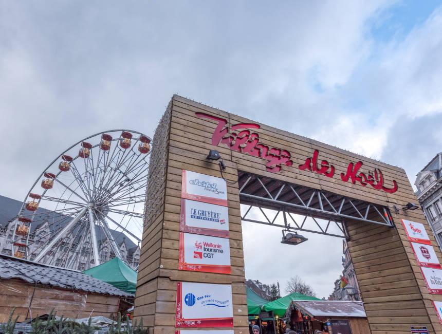 christmas market liege nearby valkenburg