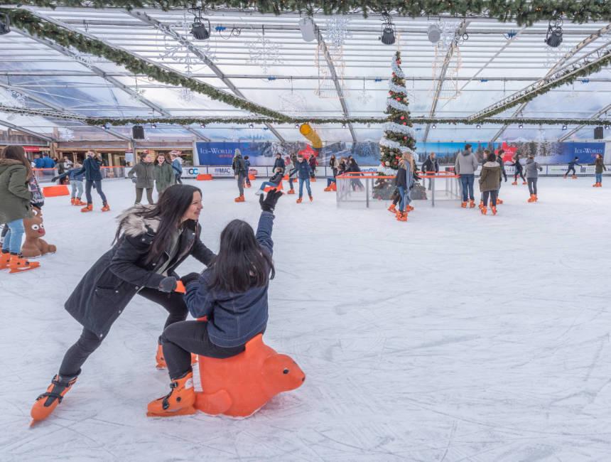 ice skating maastricht christmas market