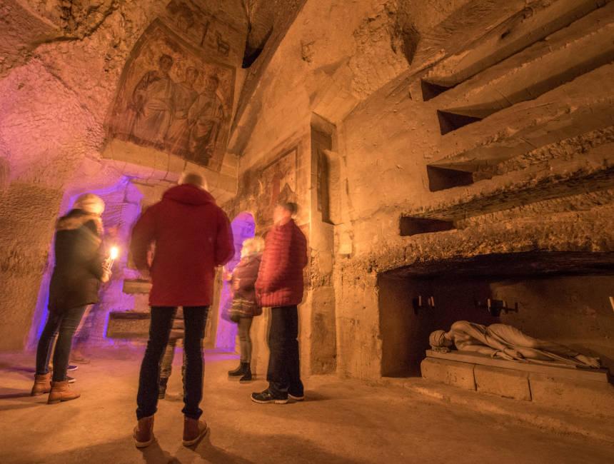 Roman catacombs Valkenburg
