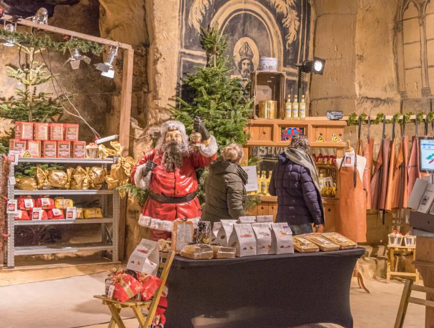 valkenburg caves chirstmas market
